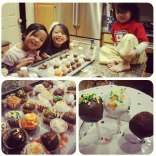 Finished products w/my girls :)