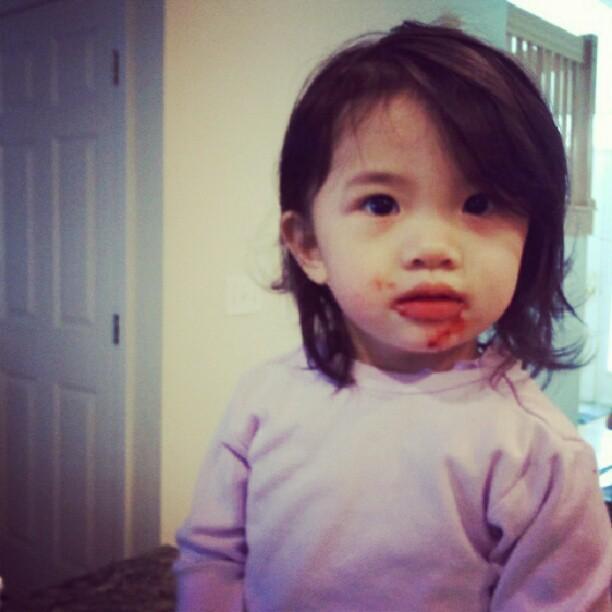 Yup, she got her cakeball