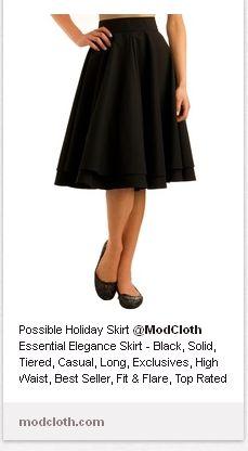 "modcloth - ""Essential Elegance"" skirt"
