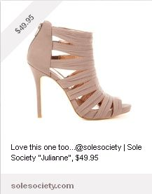 "sole society ""Julianne"""